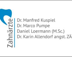 Zahnarztpraxis Dr. Kuspiel, Dr. Pumpe und Loermann M.Sc.
