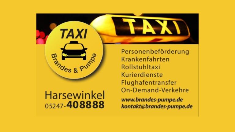 Taxifahrerin/Taxifahrer (m/w/d) in Vollzeit/Teilzeit/auf 450 € Basis